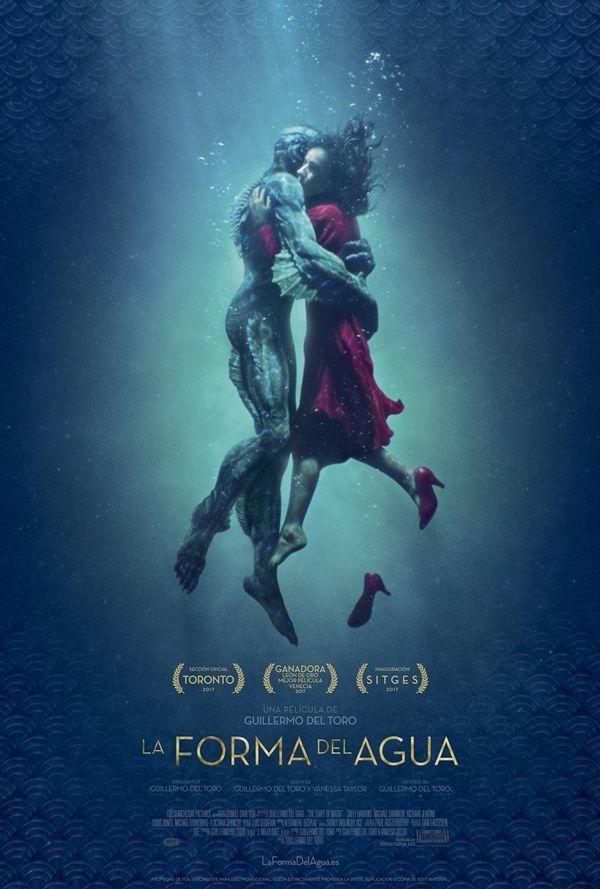 Sally Hawkins encantadora en una película de fantasía, suspenso y crítica social.