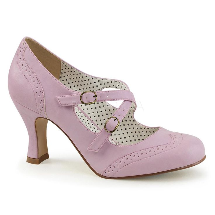 Pinup Couture Flapper Lavender Mary Jane Pump - The Atomic Boutique