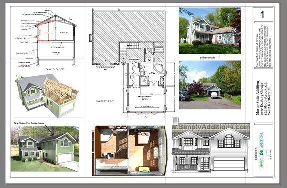 Master Suite Addition Above Garage Plans & Blueprints - THIS ...
