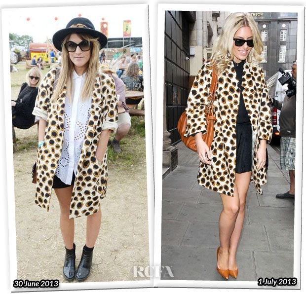 Who Wore Jaeger Better…Caroline Flack or Mollie King