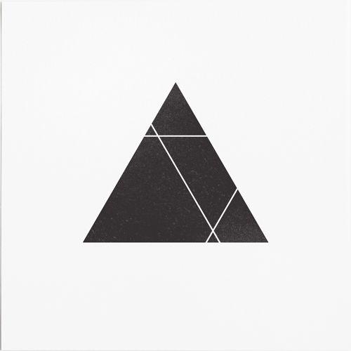 Illustration Black and White design inspiration black tattoo triangle print blackandwhite modern geometric minimalism minimal geometry