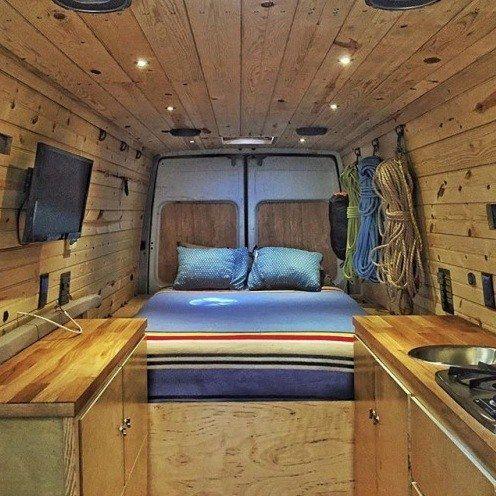 The 25 Best Campervan Bed Ideas On Pinterest