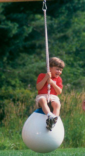 Swings & Swinging Things: Frolic Swing Set, Play Set Accessories | CedarWorks