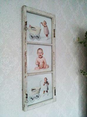 Fönster med foto