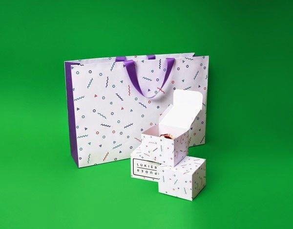 bakery cake packaging design