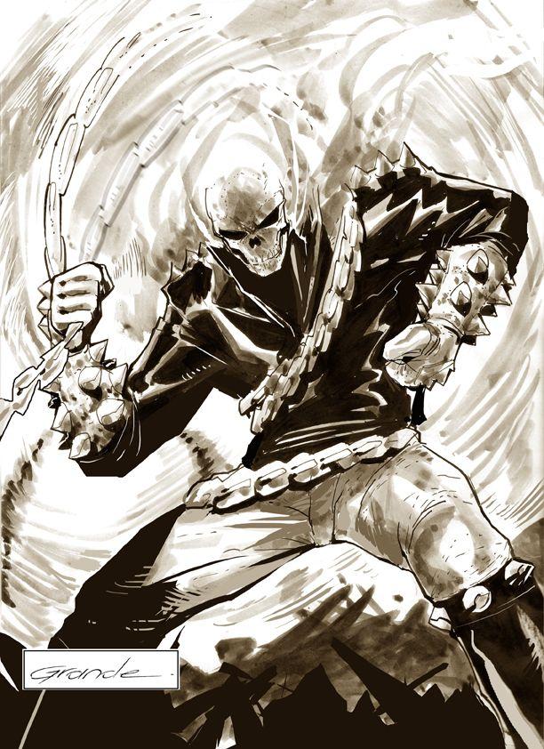 Ghost Rider by J.C. Grande on deviantART