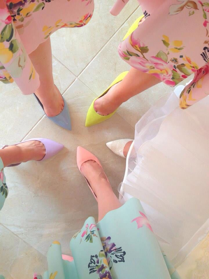 Wedding morning fun with my favourite girls