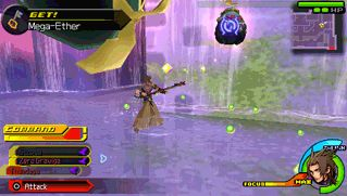 Gravitational Upforce   Using the Zero Gravity spell, Terra (Kingdom Hearts) creates a low-gravity field, causing his enemies to float helplessly.