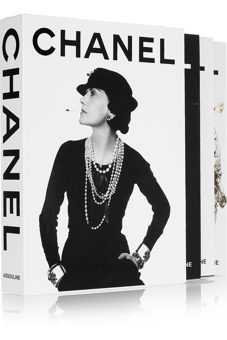 The Fashion Book Hardcover : Assouline chanel by françois baudot and aveline