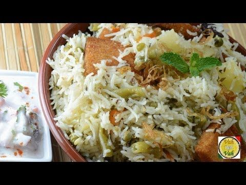 hyderabadi veg biryani recipe vah chef chicken