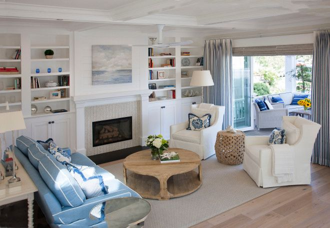 Coronado Island Beach House with Coastal Interiors