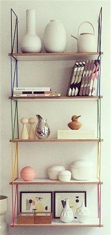 Kwikshop, shelves