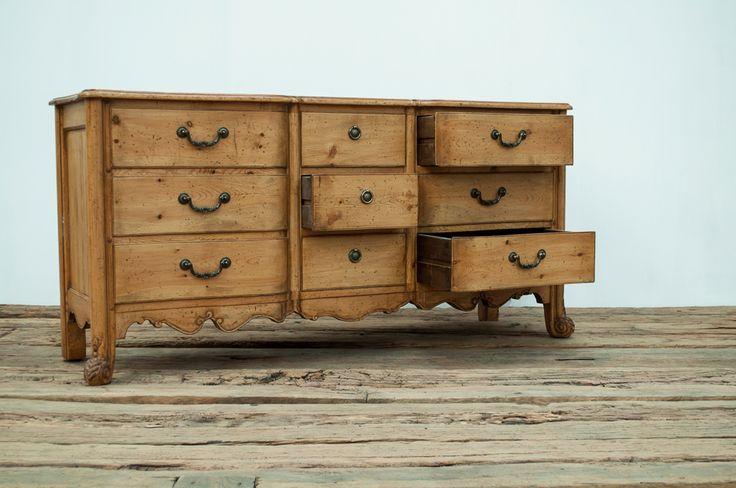 Vintage Baker Louis Xv Chest Of Drawers Dresser