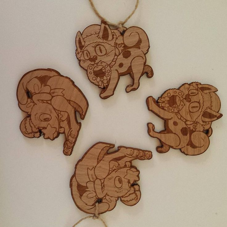 My Christmas charms / ornaments came in!