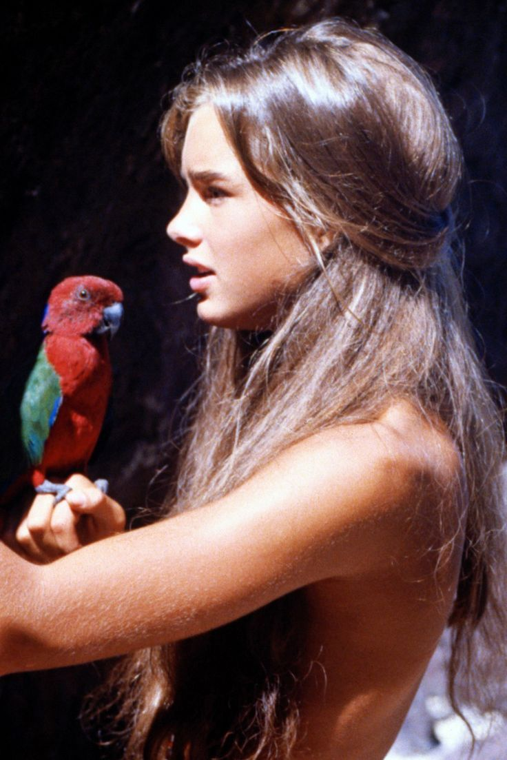 brooke shields young naked Young Brooke Shields in Blue Lagoon, 1980