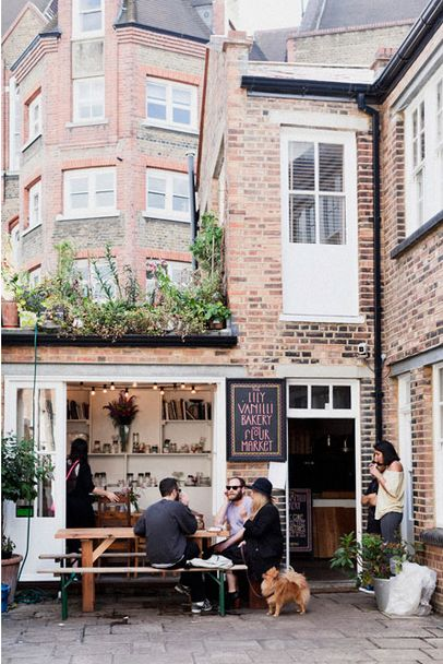 #CafeSociety . Lili Vanilli Bakery, London | cafe bistro pub restaurant -