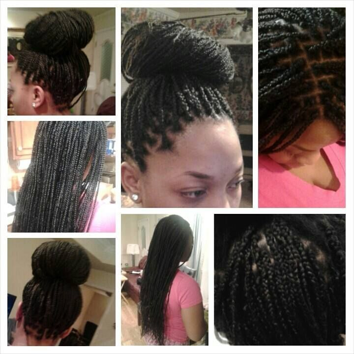 Crochet Braids El Paso : ... on Pinterest Big box braids, Protective styles and Box braids bun
