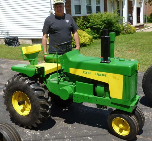 Antique John Deere Lawn Tractors : Best images about modified riding lawn mower on