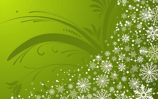 Snow Green Wallpaper Full HD