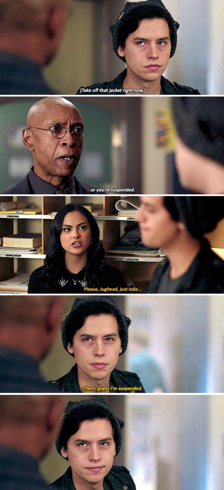 "Riverdale 2x10 ""Chapter Twenty-Three: The Blackboard Jungle"""