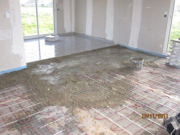 Pose De Carrelage Sur Chape Maigre Tile Floor Flooring Tiles