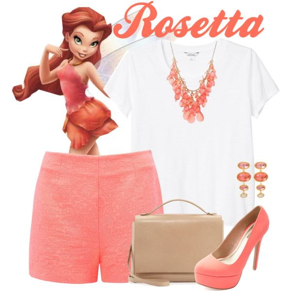 Rosetta by alyssa-eatinger on Polyvore featuring polyvore, fashion, style, Monki, Forever New, Charlotte Russe, The Row, Larkspur & Hawk and Disney