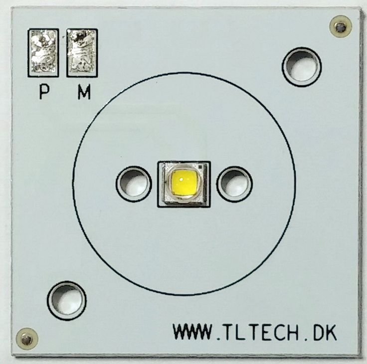LED PCB 30x30 for emergency lighting