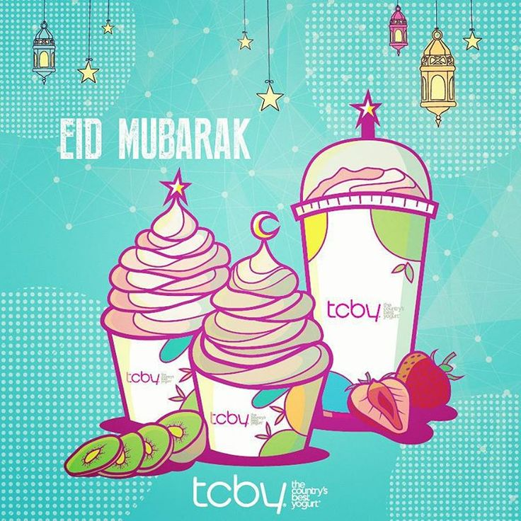 TCBY wishes you all a very happy and festive Eid! EID MUBARAK TO YOU AND YOURS! #Bahrain #Froyo #Juffair #IsaTown #AlAali #Budaiya #Yum