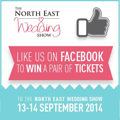 Like our #Facebook page and #win a pair of #freetickets to our #Newcastle show: https://www.facebook.com/NorthEastWeddingShow