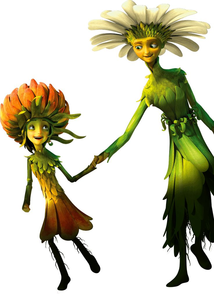 "Characters from the movie animation, ""Epic"""