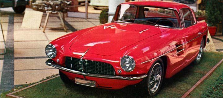 1956 Pegaso Z-103 Coupe (Touring)