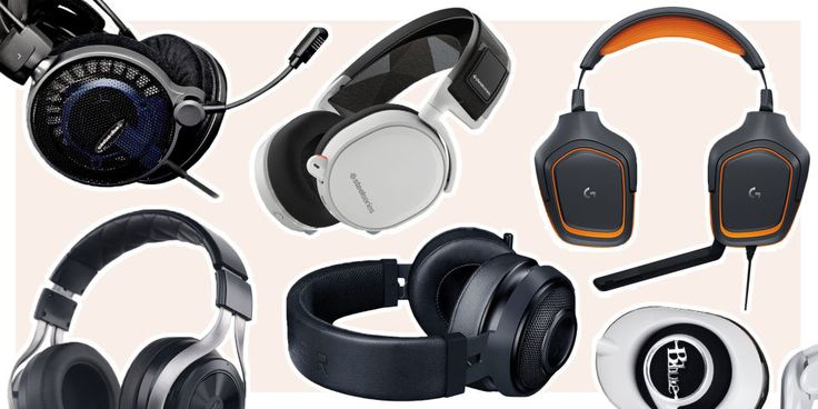 Gaming headphones feature over-ear design on almost all occasions in order to better accommodate their massive audio drivers. Large and soft ear pads are another major requisite for the product range, as is a quality microphone for in-game communication.