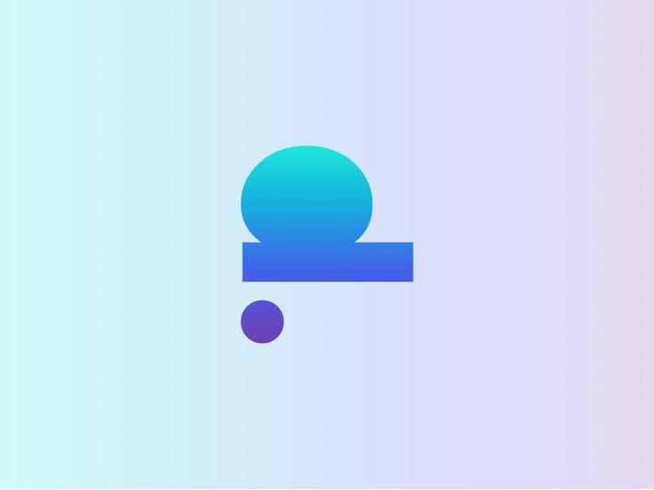 Personal Logo Sketch III – Gradients