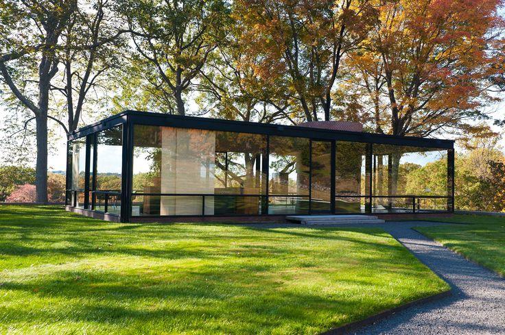 philip johnson glass house - Google 検索