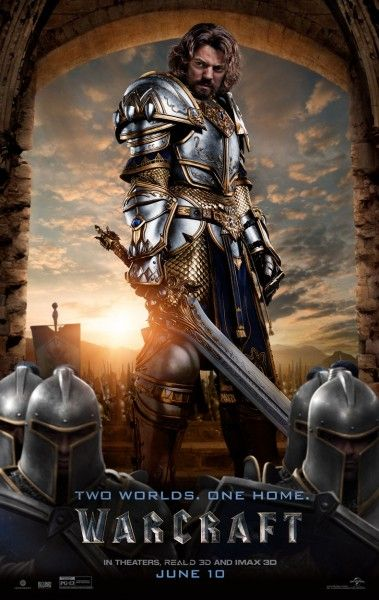 Warcraft - Dominic Cooper - King Llane