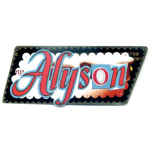 25 best name tags extraordinaire images on pinterest name badges name tag custom made by harriete estel berman for alyson stanfield of artbizcoach solutioingenieria