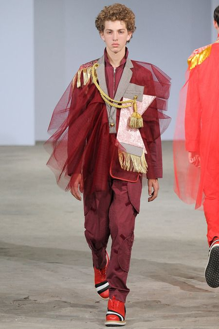 Walter Van Beirendonck | Spring 2015 Menswear Collection | Style.com