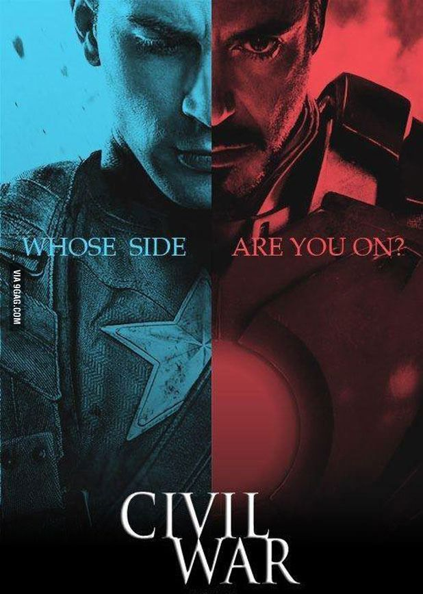 How much would I love to see a Marvel Civil War movie? So much. So very, very much. get more only on http://freefacebookcovers.net