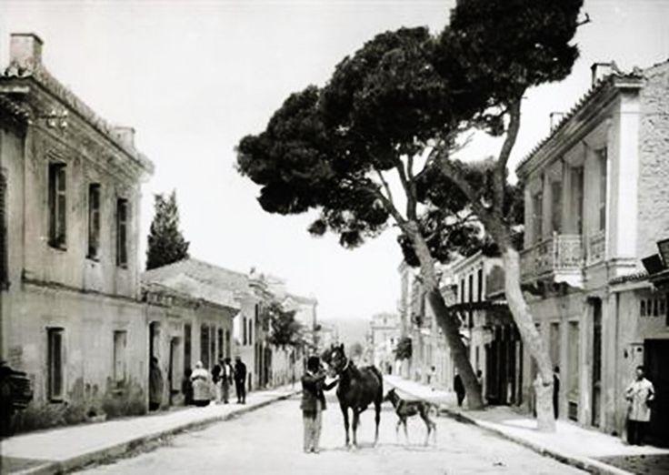 Αθήνα. Η οδός Βερανζέρου, περ. 1903-1923