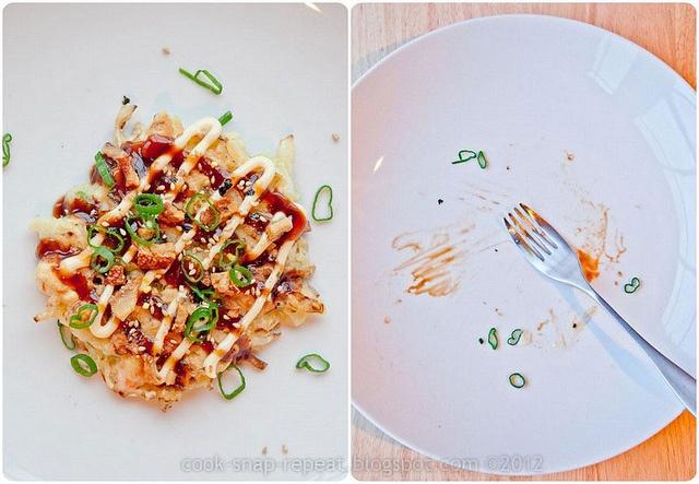 okonomiyaki, Japanese pancakes | Japonese recipes | Pinterest