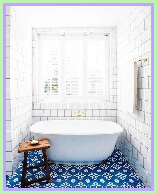 73 Reference Of Floor Tile Design Wall Tiles In 2020 Bold Bathroom Tile Blue Bathroom Tile Small Bathroom Remodel