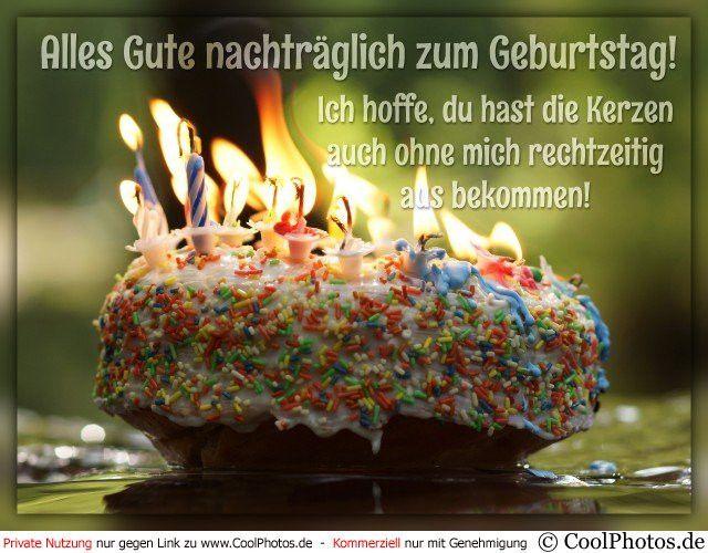 Geburtstagsgrusse Vergessen Luxury Cool S Alles Gute Nachtraglich