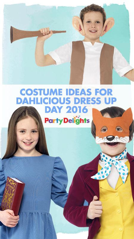 Looking for costume ideas for Dahlicious Dress Up Day? Read our round-up of the best Roald Dahl costumes for kids - perfect for Dahlicious Dress Up Day or Roald Dahl Day!