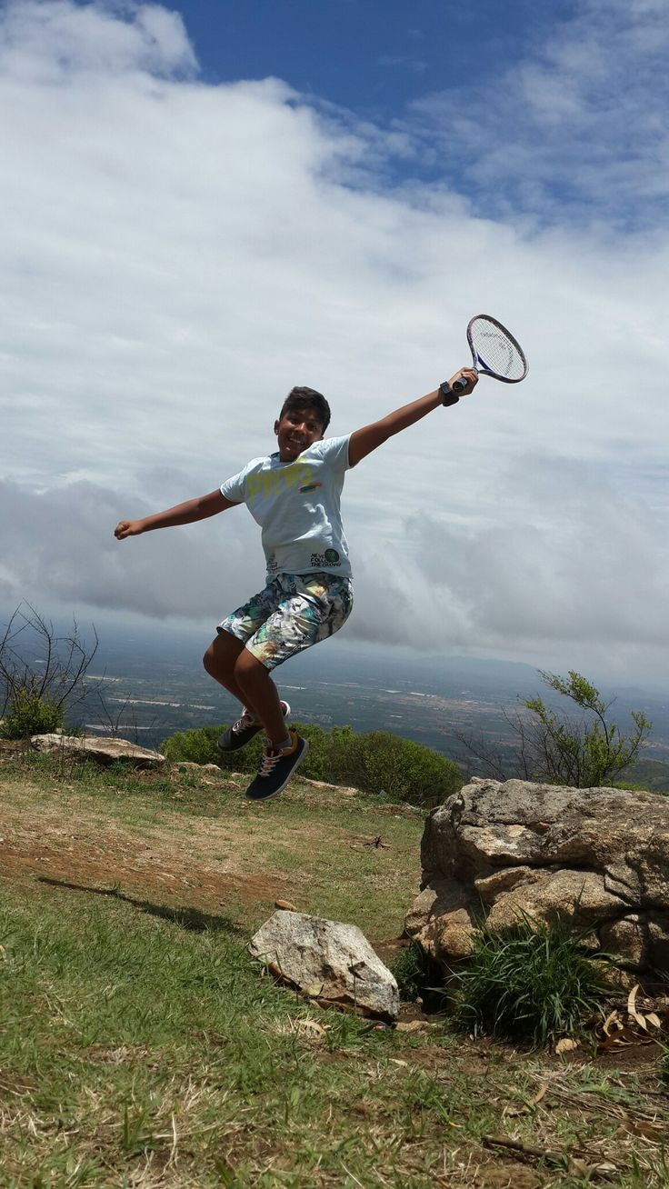 Kishen the sport shot by me @ nandi hills near namma Bengaluru