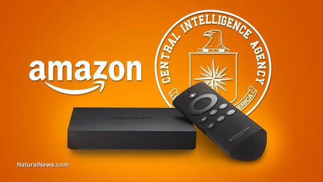 Millions of Americans installing 'perfect spying device' in their own living rooms: Amazon Fire TV monitors and records your conversations 7-15-14  amazon is building CIA's new $600 million data center reports Financial Times.Amazon is building this massive cloud computing infrastructure for the CIA