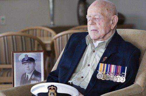 January 1st: This man died today, he may look like any other old person but he was the last remaining combat veteran of The 1st World war. He joined the navy at 14 and had a 41year military career, published his 1st book at 108 and he was 110 when he passed away. No matter what your view on war, people like this deserve all our thanks. Governments start wars and the people fight them.    RIP Claude Stanley Choules.