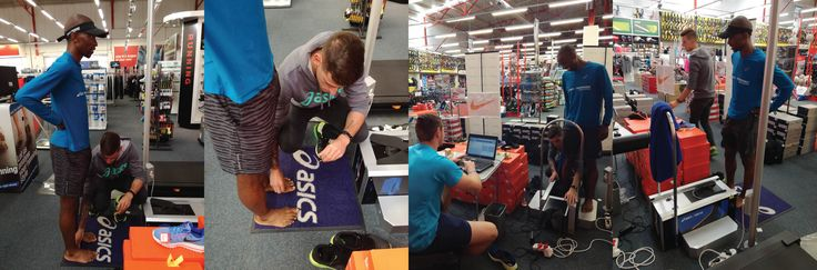 """BLOG POST: I visited the Sportsman's warehouse in Centurion over the weekend where """"Who advised you to purchase this running shoe?"""" – was the popular question of the day. Follow through to the @asicsfrontrunner website or the link below! ⏬⏬⏬⏬⏬⏬⏬⏬⏬ https://www.asics.co.za/frontrunner/articles/asics-3d-foot-id-scanner-know-what-running-shoe-to-buy  #ASICS #ASICSfrontrunner #asicsfrontrunnerza #rwchallenge2017"""