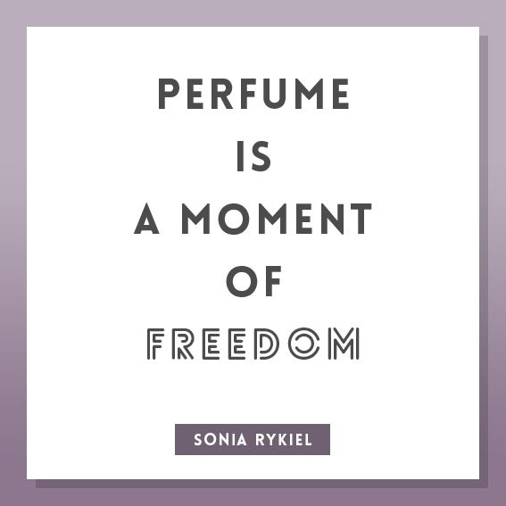 Perfume Quote by Sonia Rykiel