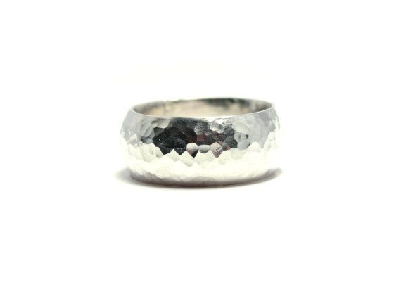 Sterling Silver Ring, Chunky Silver Ring by thelipstickdiaries on Etsy, £48.00