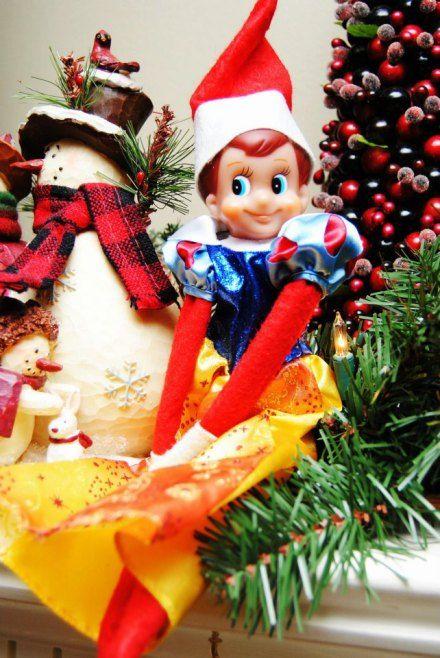 Elf on the Shelf - Princess elf, You could use Barbie clothes too.